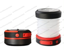 Wholesale Solar Panel Camp - 2017 NEW Solar Waterproof Panel Camping LED Lantern Rechargeable Collapsible Light MYY