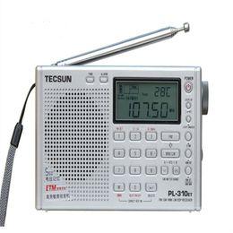 Wholesale High Band Radio - Wholesale-High Quality Tecsun PL-310ET Portable Stereo FM Radio FM AM SW LW Full Band DSP Radio Digital Demodulation Radio