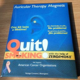Argentina Dejar de fumar Zerosmoke Healthy Care Auricular Zerosmoke Magnets cero fumar Auricular Therapy Magnets Sin productos químicos Suministro