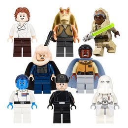 Wholesale Space Wars Building Blocks Toys For Children Minifigs Han Solo Grand Admiral Thrawn Snowtrooper Figures Block Kids Gift Bricks Toy