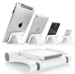 Paréntesis angulares online-Colorido Portable Ajustar soporte de ángulo Soporte Flexible Soporte de teléfono Soporte de soporte Soporte para tableta ipad
