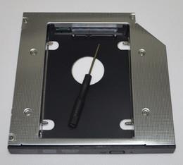 Wholesale Hdd For Asus - Wholesale- 12.7mm 2nd Hard Drive HDD SATA Caddy Adapter for Asus N43 N45 N55 N53 N53S N73