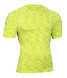 Nouveau 2017 Hommes Couche T Shirt Fitness Collants Quick Dry Crossfit Compression Vêtements Hauts Vêtements De Sport Confortable ? partir de fabricateur