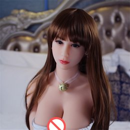 Wholesale Chinese Inflatable Sex Dolls - 161cm chinese sex doll Adult full size love doll real silicone love doll lifelike inflatable sex toys for men