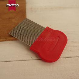 Wholesale Metal Comb Dog - top quality metal comb long teeth comb for grooming dog comb DCO-A001