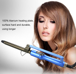 Wholesale Best Hair Iron Straightener - best htc hair straightener Automatic Hair Curls Electric Hair Styler Curl Curling Professional Marcel Iron, 1 Inch Big Waver PTC Quick Heat