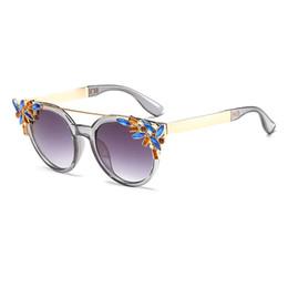 Wholesale Pink Rhinestone Sunglasses - New UV400 Protection Women Unisex Fashion Eyewear Rhinestone Full Frame Sunglasses Beach Outdoor Driving Sunglass UV Protect Glasses dhP-262