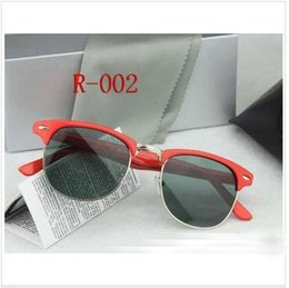 Wholesale Hinged Boxes Wholesale - hot sale Brand Designer Sunglasses High Quality Metal Hinge Sunglasses Men Glasses Women Sun glasses UV400 51mm Unisex With Original Box