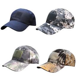Wholesale Fitted Tactical Hats - Wholesale- Vogue Women Men Headwear Hats Unisex Tactical Cap American US Flag Patch Baseball Hat ER4