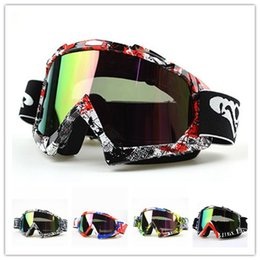 Wholesale Helmet Mx - 2017 Motorcycle Goggles Motocross Gafas for KTM FOX Helmet Racing Glasses Dirt Bike ATV MX Goggles Clear Tinted Lens Off Road