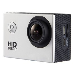 Wholesale Hd Camcorder Cheapest - new cheapest SJ4000 1080P Full HD Action Camera Sport Camcorder DV DVR Silver with free DHL shipping