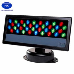 Wholesale led par 36 lights - 36*3W LED Wall Washer Waterproof LED Floodlight RGB Stage Light Outdoor Light Par lighting LED Wash light Effect lamp