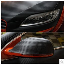 Wholesale Carbon Fiber Vehicle - 1.52*4M Hot sale 3D Carbon Fiber Vinyl Car Wrapping Foil,Vehicle Change Color Film,many color