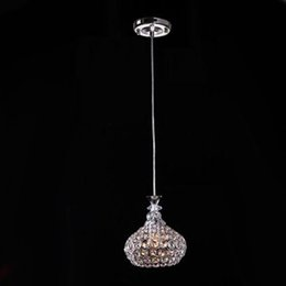 Single Head 5w AC85-265v modern crystal pendant light lustres pendentes home decor fixture lighting Dia18cm crystal l& from dropshipping suppliers  sc 1 st  DHgate.com & Canada Single Crystal Lighting Pendants Supply Single Crystal ... azcodes.com