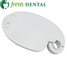 Wholesale Dental Chair Lamp - 4 PCS dental chair unit tray lamp-posts pallet small tray dental plastic pallet dental chair lamp posts pallet SL-1301