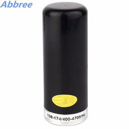 Wholesale Vhf Mobile - Wholesale- Abbree HH-N2RS Mini Antenna 9cm Length Dual Band VHF  UHF 136-174 400-470MHz for Walkie Talkie Mobile Car Vehicle Radio