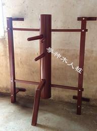 Argentina 18-22 unids / set Personalizado Colgado de Pared Elm Wing Chun Maniquí de madera Pierna, chino kung fu ajuste colgante de pared maniquí de madera Suministro