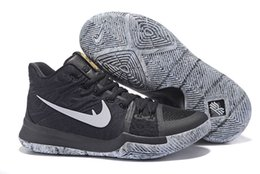 Wholesale Bhm Shoes - Free Shipping 2017 Kyrie 3 BHM Black History Month Mens Basketball Shoes Sports Sneakers
