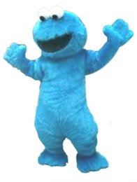 Wholesale Character Mascot Costumes Elmo - BLUE elmo Mascot Costumes Cartoon Character Adult Sz 100% Real Picture