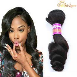 Wholesale Loose Wave Human Hair Unprocessed - Brazilian Loose Wave Virgin Hair Extensions Wholesale 7A Brazilian Virgin Hair Loose Wave 4 Bundles Unprocessed Human Hair Weave Bundles