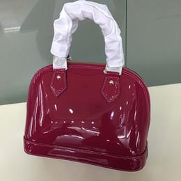 Wholesale Damier Ebene - Top quality Alma BB Epi Leather Tote cross body Bags for Women Shoulder Handbags Purse Alma PM Damier Ebene designer ladies M53151 PM MM BB