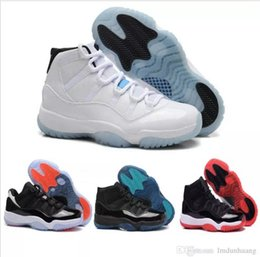 Wholesale Metallic Denim Fabric - Air Retro 11 XI ball shoes men and women white Olympic Concord Gamma Blue Varsity Red Navy Gum Sneaker Metallic Gold sneakers
