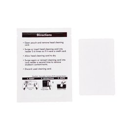 Wholesale Card Door Reader - CR80 Cleaning Card For Card Printer Card Reader Pos ATM Door Lock Readers 50 Pcs Set Cleaning Kits Pre-saturated With IPA