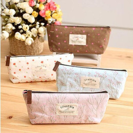 Wholesale Vanity Bag Travel - Beautician Vanity Neceser Necessaire Women Travel Toiletry Pencil Make Up Makeup Case Storage Pouch Cosmetic Bag Purse Organizer ZA2543