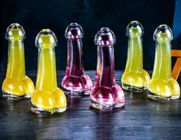 Wholesale Glasses For Cocktails - Creative Transparent penis wine glasses,drink cups,cocktail glass,for a variety of bars or parties