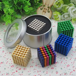 Wholesale 5mm Bucky Ball - Hot Selling! 5mm magnetic bucky balls Puzzle magic balls EDC toys with Various color free shipping