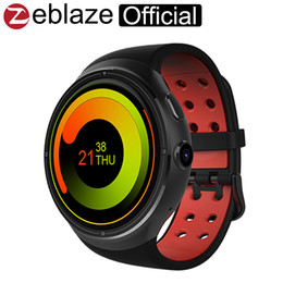 Wholesale Super Rates - Wholesale- Zeblaze THOR 1.4inch Super AMOLED 400*400 CORNING Gorilla Glass3 Bigger 1GB+16GB GPS smartwatch phone