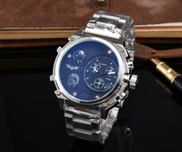 Wholesale Men S Big Watch - Big Dial DZ Luxury Brand Watch For Man Military Men s sports watch Stainless steel Fashion Dress Watches Man Casual Quartz Wristwatch