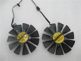 Wholesale Asus Gtx - New 95MM Firstdo FD10015H12S 0.55A 4PIN 5Pin Cooler Fan For ASUS GTX 970 980 TI R9 380 Strix Graphics Video Card Cooler Fan