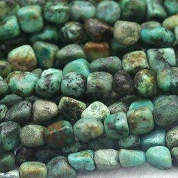 "Wholesale Genuine Turquoise Jewelry Wholesale - Wholesale- Discount Wholesale Natural Genuine Blue Africa Turquoise Nugget Loose Beads Free Form Beads 5-12mm Fit Jewelry 15"" 03911"