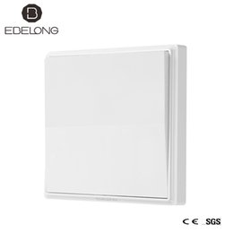 Smart wifi china en venta-China ebelong 1 Way 1gang RF interruptor inalámbrico de contacto táctil / interruptores de pared para casa inteligente