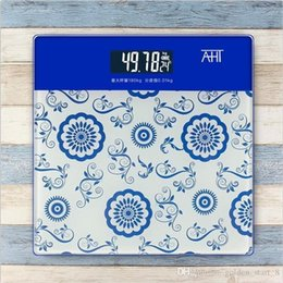Wholesale Digital Scale Cheap - 7 colors High quality bathroom scale weight scale portable human body electronic scale,convenient and cheap!!