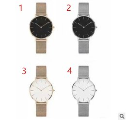 Wholesale Christmas Stocking Boxes - 2017 In stock D top brand fashion casual watches men women military Quartz Watch watching relogio masculino NO BOX