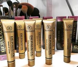 Wholesale Wine Skins Wholesale - Famous Brand Dermacol Base Make up Cover Primer pro Makeup Base Professional Dermacol Foundation Makeup Contour Palette matchmast