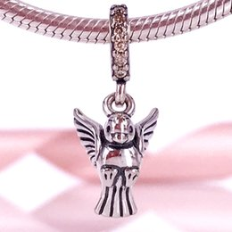 Wholesale Pandora Peace Charm - Pandora silver Beads European Jewelry Sterling Silver Beads Dove Of Peace Pendant Charm Fits Authentic Pandora Bracelet & Necklace 791394CCZ