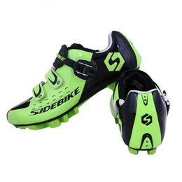 Wholesale Lock Loop - Sidebike Cycling Shoes Mountain Bicycle bike Racing shoes Self-Locking Bike MTB Shoes sapatilha zapatillas ciclismo free shipping