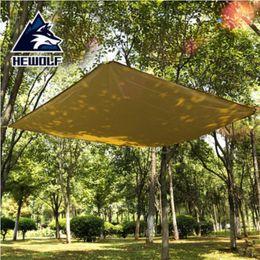 Wholesale Car Tent Canopy - Wholesale- HEWOLF Sun Awning Sunshade Canopy Sun Beach Parking Shed Car Tent Rain Shelter Tent Ultralight Tarp Outdoor Camping Equipment