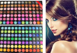 Wholesale 168 Color Makeup - Wholesale- New Pro 168 Color Maquillage shadow Eyeshadow Cosmetic Makeup Palette Set disk for women free shipping