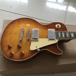 Canada New Chinese bonne guitare custom shop guitare personnalisée guitare électrique, belle orange, belle, peut être beaucoup de custom, comme des photos Offre