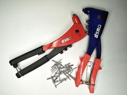 Wholesale Riveter Tool - Tovia high quality hand riveter pop riveter gun kit blind rivet gutter hand tool