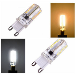 Wholesale cob led smd 6w - Corn Light LED G9 6W 9W COB Spot 360 degree Fashion design lamp SMD3014 AC 220V Bulb Mini led bulb Warm  Cold White led corn bulbs