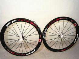Wholesale Michelin Roads Tire - 700C Michelin tires 50mm carbon clincher wheelset wheels basalt brake surface carbon bike road wheels 50mm Carbon rims