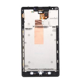 Wholesale Microsoft Parts - For Nokia Lumia 1520 LCD Display Touch Screen Digitizer Assembly With Frame Original Replacement Parts AAA best LCD for Microsoft Nokia Lum