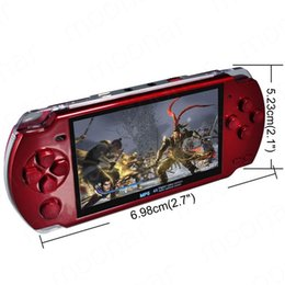 Wholesale Mp3 Mp4 Player Screen - NEW Built-in 5000 games, 8GB 4.3 Inch PMP Handheld Game Player MP3 MP4 MP5 Player Video FM Camera Portable Game Console fast ship