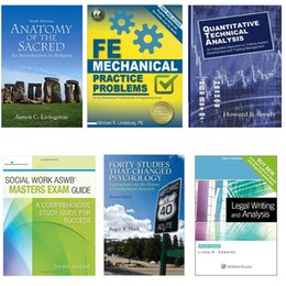 Wholesale Electronics Books - Promotion!High Profits books ! shipping in 24hrs!Anatomy Mechanical Socil Work DHL shipping free