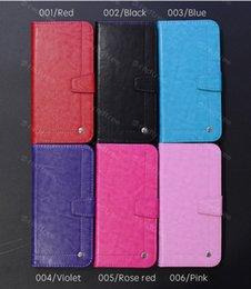 Wholesale Sewing Mobile - Free shipping! High grade leather case, mobile phone protection cover with sewing thread for Iphone ,Samsung